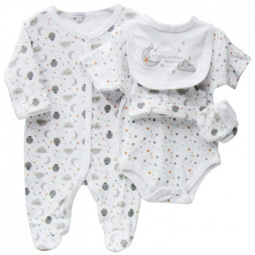 baby 5 piece starter pack twinkle star